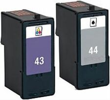 Non-OEM Replaces 43 & 44 For Lexmark X4850 X4875 Ink Cartridges