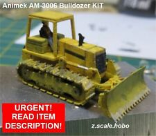 Animek Z Scale AM-3006 John Deere Bulldozer ADVANCED Model KIT *NEW $0 Ship