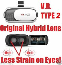 """HQ VR BOX KIT TYPE 2 VR Virtual Reality Glasses Headset for Smart Phones 3 to 6"""""""