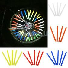 12 BICYCLE CYCLING SPOKE WHEEL REFLECTOR REFLECTIVE SAFETY STOCKING FILLER