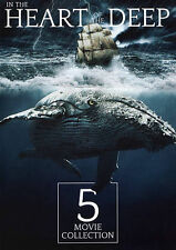 5 Movie Collection: In the Heart of the Deep (DVD, 2015)