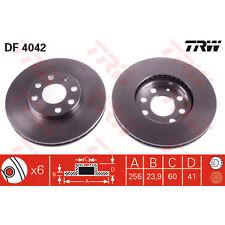 Disque de frein, 1 unités trw df4042