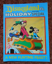 DISNEYLAND HOLIDAY SPECIAL COMIC. VERY RARE. LOVELY CONDITION. PUZZLES NOT DONE