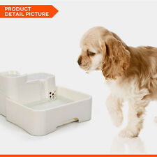 Automatic Dog Cat Water Drinking Drinker Fountain Bowl Feeder Water Dispenser
