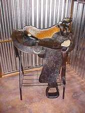 """High Quality COLORADO LEATHER AND SILVER 16"""" WESTERN SADDLE"""