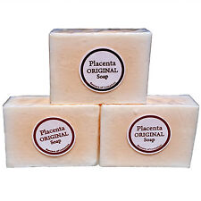3x Placenta Glutathione 2in1 Skin Whitening Soap, Renewing Lightening Anti-Aging