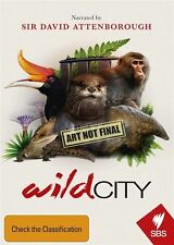 David Attenborough's Wild City (DVD, 2016) (Region 4) Aussie Release