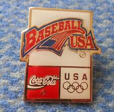 USA OLYMPIC BASEBALL TEAM PIN BADGE