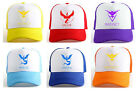 Pokemon Go Cap Hat Team Valor Team Mystic Team Instinct Pokemon Cap Pokemon Hat