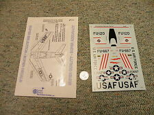 SuperScale decals 1/48 48-883 North American F-86D-50-NA Late CO 524th FIS  N13