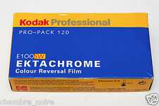 Kodak Ektachrome 120 E100SW (one pack of 5 rolls) Medium format EXPIRED 05/2002