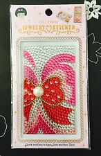 FREE SHIPPING Bling Jewelry Sticker Embellishments Scrapbook Crafts Sparkly #1