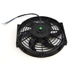 "10"" inch Universal Slim Fan Push Pull Electric Radiator Cooling 12V Mount Kit"