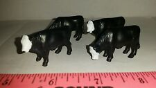 1/64 ERTL FARM TOY QTY OF 4 ASSORTED BALADI BEEF COWS CATTLE 4 UR DISPLAY