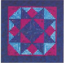 Log Cabin Stars paper pieced quilt pattern by A Very Special Collection