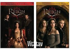 Reign: The Complete Season 1-2 DVD NEW