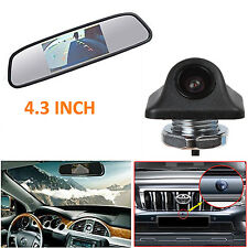 4.3'' LCD In-Mirror HD Monitor + HD Car Backup Reverse Parking Camera Kits
