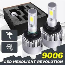 9006 HB4 COB LED Car Auto Headlight Conversion Bulbs Kit 6000K 16000LM 160W