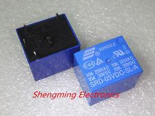 50pcs 4pins 5V SRD-05VDC-SL-A 10A 250VAC SONGLE Relay