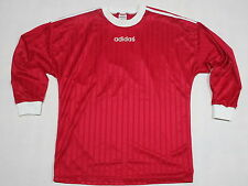 Adidas Trikot Jersey Camiseta Maglia Maillot T-Shirt Rot Red Vintage 90s 90er  L