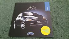 June 1999 FORD KA BLACK Special Edition - UK 8 PAGE COLOUR BROCHURE Sticker
