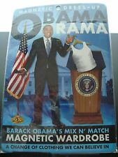 OBAMA RAMA Magnetic Dress-Up MixN'Match Wardrobe for Barack Obama New in Package