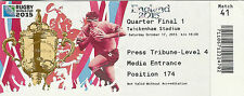 South Africa v Wales 17 Oct 2015 RUGBY WORLD CUP TICKET Quarter Final Twickenham