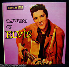 "ELVIS PRESLEY-THE BEST OF ELVIS-Rare UK 10"" Import Album-RCA VICTOR #DLP-1159"