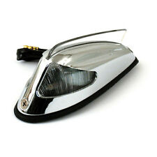 FRONT FENDER luce 50-57 STYLE CROMO con luce pulita per HARLEY-DAVIDSON