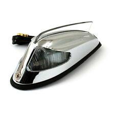 Front Fender Licht 50-57 Style Chrom mit klarem Licht für Harley - Davidson