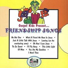 FREE US SH (int'l sh=$0-$3) NEW CD Gospel Kids: Friendship Songs