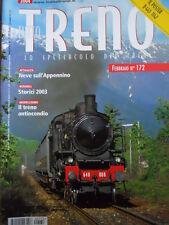 Tutto Treno 172 - Neve Sull' Appenino - Treni storici nel 2003 - Poster D 445