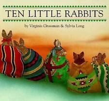 Ten Little Rabbits by Virginia Grossman (1998, Board Book)