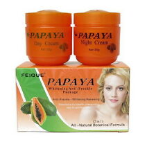 FEIQUE PAPAYA whitening cream anti freckle nourishing skin 2 in 1 (20g*2)