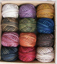 Valdani Thread Vintage Hues Sampler for Jacqueline Paton 3 strand floss