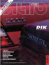 1991 AUTOVISIE MAGAZIN 10 HONDA LEGEND V6 FORD SCORPIO COSWORTH VW PASSAT V6