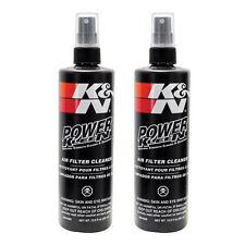 2 X K & N Poder Kleen fuerza industrial limpiador de filtro de aire & Desengrasante 355ml