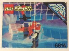 LEGO 6814 Notice de Montage Instruction Booklet 1993 Ice Planet 2002