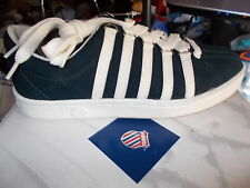 K SWISS TRAINERS murano in size 4 5 OR  6 uk in suede at £20 bnwl in navy