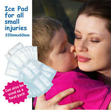 25 x Ice Pad / Ice Pack sheets each 220 x 60mm - for small injuries - Code: CP23