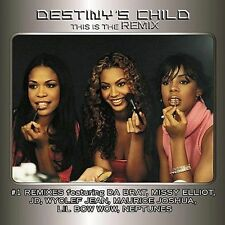 This is the Remix by Destiny's Child Beyonce Kelly (Cassette) SEALED NEW (GS10)