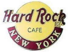 Hard Rock Cafe NEW YORK 1990s Large CLASSIC HRC Logo PIN 2LC LOGOS - HRC #6488
