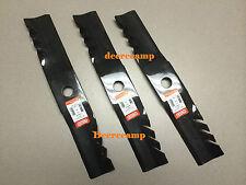 """Set/3 54"""" Gator blades replaces Kubota #'s K5615-97550 & K5615-34342 *396811"""