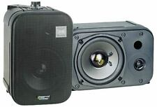"NEW Pyle PDMN48 5"" Two-Way Bass Reflex Mini-Monitor Bookshelf/wall mount Speaker"