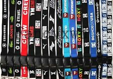 New 20 Pcs  Logo Lanyards Keychain LANYARD Neck phone Strap Charms NLK-13