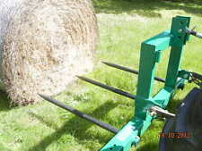 HAYES HAY BALE FORKS PALLET FORKS COMBO - TRACTOR 3 POINT LINKAGE (3PL)