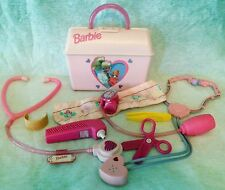 Pink 1997 Barbie Doctor's Medical Pretend Bag Child Size Mattel 2+ Girls