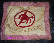 FANION DE BATAILLON 152° REGIMENT D'INFANTERIE  DIABLES ROUGES 1er Rgt DE FRANCE