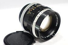 Canon FL 50mm 1:1 .4 MkII premier objectif pour FD mount F1N A1 etc auto/manuel ouverture