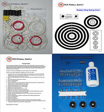 1990 Williams Whirlwind Pinball Tune-up Kit w/White Rings aka Whirl Wind